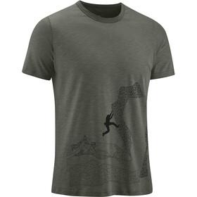 Edelrid Highball IV Camiseta Hombre, verde